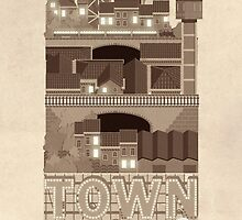 Townscape Vintage by Tanguy Leysen