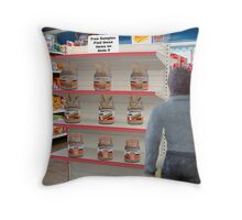 Barry hates when Maggie sends him to the store with a non-specific list! Throw Pillow