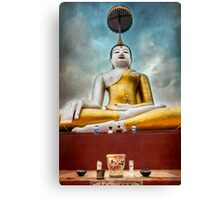 Golden Buddha Thailand Canvas Print