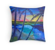 Island View Throw Pillow