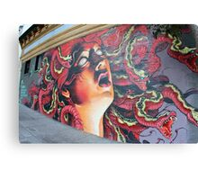 Medusa Mural in Haight Ashbury - San Francisco Canvas Print