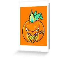 Fruity Hero // Orange Gunner Greeting Card
