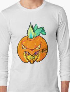 Fruity Hero // Orange Gunner Long Sleeve T-Shirt