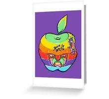 Fruity Hero // Apple Max Greeting Card