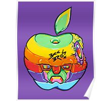 Fruity Hero // Apple Max Poster