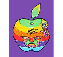 Fruity Hero // Apple Max Photographic Print