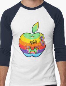 Fruity Hero // Apple Max Men's Baseball ¾ T-Shirt