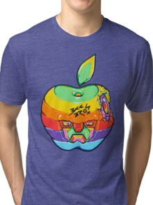 Fruity Hero // Apple Max Tri-blend T-Shirt