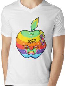 Fruity Hero // Apple Max Mens V-Neck T-Shirt