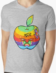 Fruity Hero // Apple Max Mens V-Neck T-Shirt