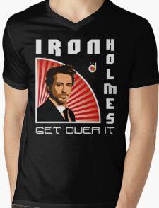 Iron Holmes Mens V-Neck T-Shirt