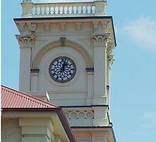 Clock Tower Maryborough Queensland Australia by sandysartstudio