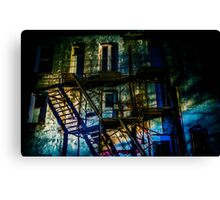 Glitch Case Canvas Print