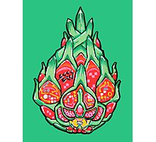 Fruity Hero // Electric Dragonfruit Photographic Print
