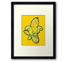 Fruity Hero // Bingo Banana Framed Print