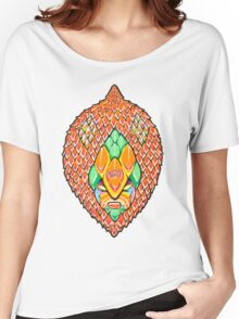 Fruity Hero // Salacca Casablanca Women's Relaxed Fit T-Shirt