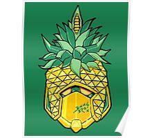 Fruity Hero // Pineapple Robo Poster