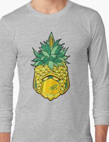 Fruity Hero // Pineapple Robo Long Sleeve T-Shirt