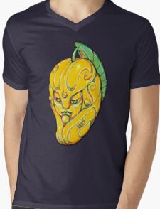 Fruity Hero // Buddha Mango Mens V-Neck T-Shirt