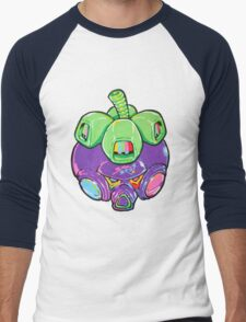 Fruity Hero // Super Mangosteen Men's Baseball ¾ T-Shirt