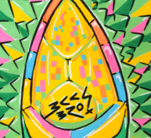 Fruity Hero // Durian Major Sticker