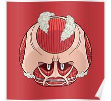 Super Titan Mushroom Poster