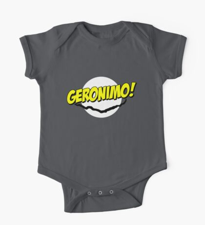 Geronimo! One Piece - Short Sleeve