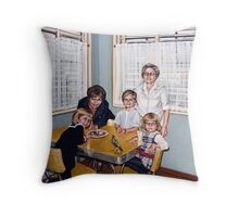 Another Easter (Grandma's House) Throw Pillow