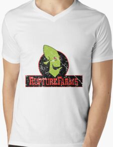Rupture Farms Grime Mens V-Neck T-Shirt