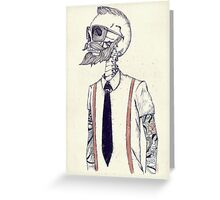 The Gentleman becomes a Hipster Greeting Card