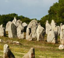 Megalithic Carnac  Sticker