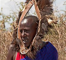 Masai Greeter by phil decocco