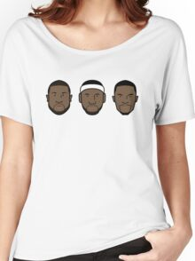 Miami Heat Big 3 Women's Relaxed Fit T-Shirt