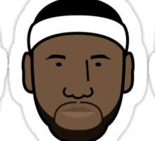 Miami Heat Big 3 Sticker
