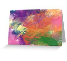 Watercolor Waves Greeting Card