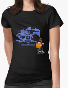 Where do I Go Now? Womens Fitted T-Shirt