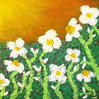 Daisies Soaking Up the Sun  by Sarah Allen