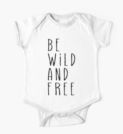 Wild and Free One Piece - Short Sleeve