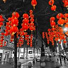 Chinese Lanterns (Selective colour) by Stephen Knowles
