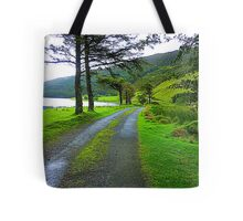 The Path By The Lake Tote Bag