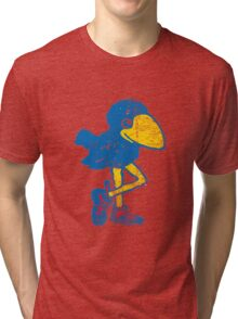 Vintage Jayhawk Tri-blend T-Shirt