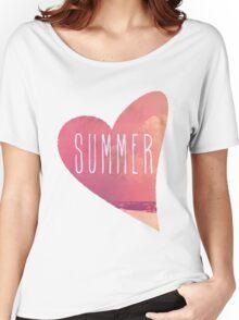 Summer Love Women's Relaxed Fit T-Shirt
