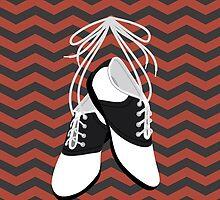 Saddle Shoes by 0katypotaty0