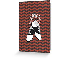 Saddle Shoes Greeting Card