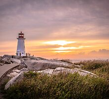 Peggy's Cove Sunset by ktsPhotography