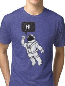 Greetings from space Tri-blend T-Shirt