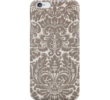 Vintage Gray Pattern iPhone Case/Skin