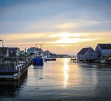 Peggy's Cove Fishing Village by ktsPhotography