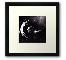 MASTERS OF THE TIME WARP Framed Print