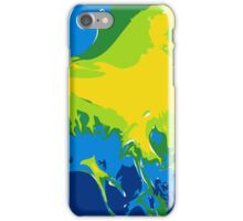 Abstract Fractal Ocean iPhone Case/Skin